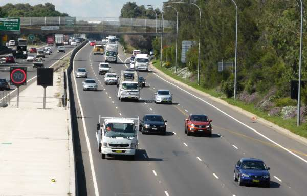 motorway 9 sydney