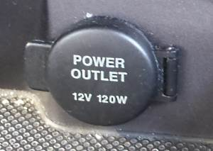 12V 120W power source in-car