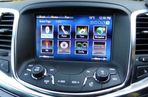 App screen in Holden Calais