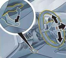 steering wheel adjustment from porsche cayenne manual