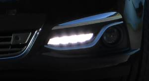 daytime running lights on Holden Calais