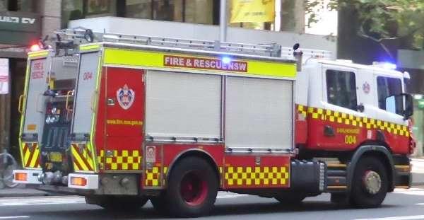 fire truck Sydney NSW