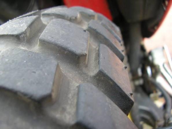 motorbike rear tyre