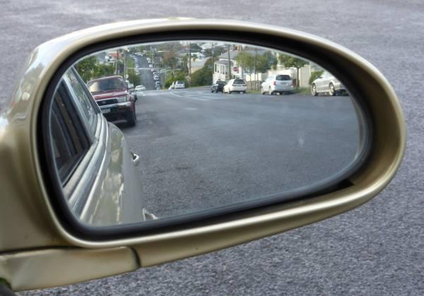 wing mirror too far in