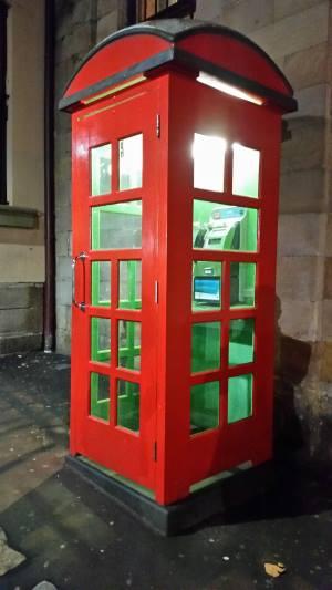 sydney telephone box