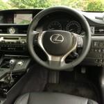 Lexus ES350 steering wheel
