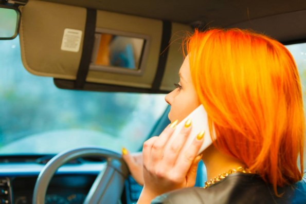 We all know that talking on a phone increases the risk of a crash